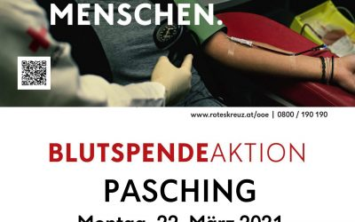 Blutspendeaktion in Pasching